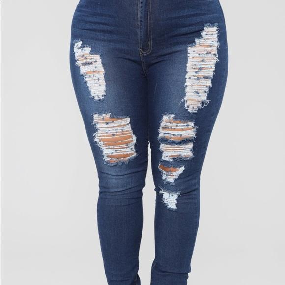 a295d95694 Fashion Nova Plus SIZE Jeans 2X